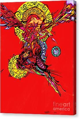 Phoenix Woman  Canvas Print