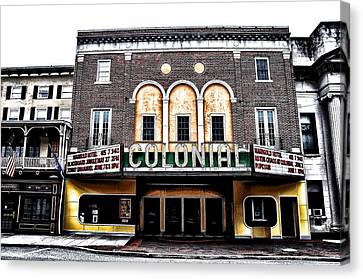 Phoenixville's Colonial Theater Canvas Print by Bill Cannon