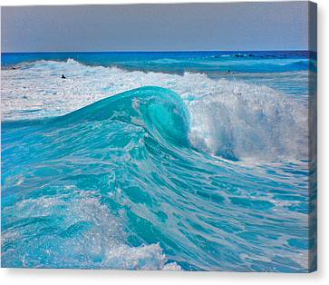 Photo Triptych. Ebb. Wave. Flow. Part 2.  Center. Canvas Print by Andy Za