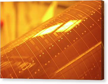 Photonics Polymer Canvas Print by Ibm Research