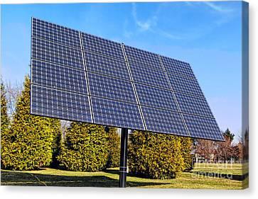 Photovoltaic Canvas Print