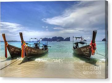 Phuket Koh Phi Phi Island Canvas Print by Bob Christopher