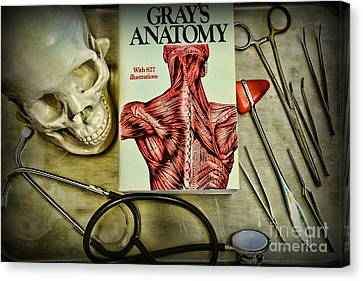 Physician - Tools Of The Trade Canvas Print by Paul Ward