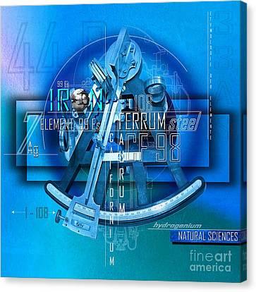 Physics Elements Discovery Canvas Print by Franziskus Pfleghart