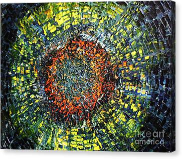Physiological Supernova Canvas Print by Michael Kulick