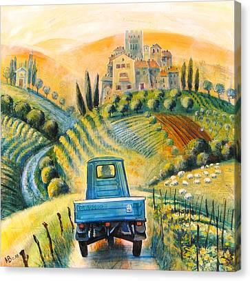 Piaggio Canvas Print