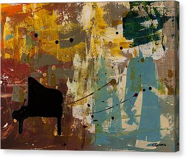 Piano Concerto Canvas Print by Carmen Guedez