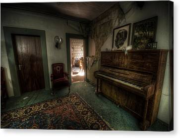Piano Corner Canvas Print by Nathan Wright