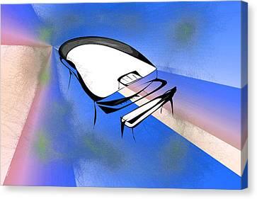 Piano Canvas Print by Rick Thiemke