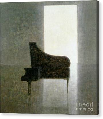 Piano Room 2005 Canvas Print by Lincoln Seligman