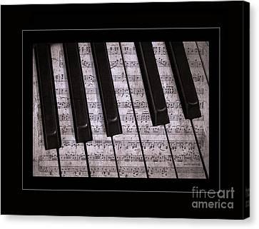 Pianoforte Classic Canvas Print by John Stephens