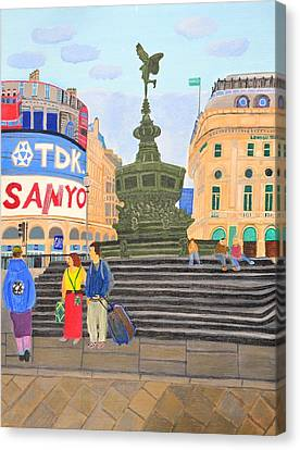 London- Piccadilly Circus Canvas Print