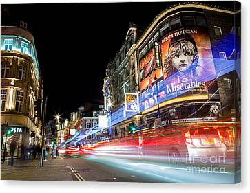 A Night In The West End Canvas Print by John Daly