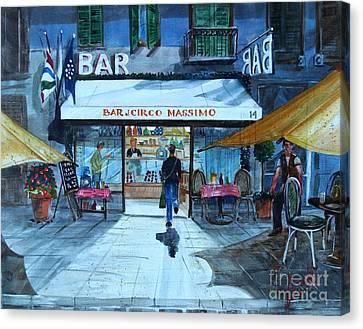 Piccolo Bar Circo Massimo Canvas Print
