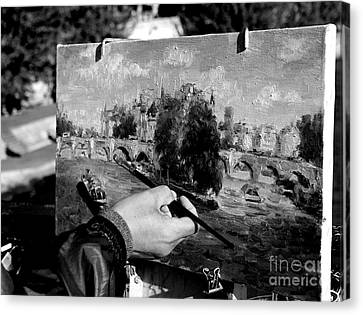 Pic...k The Artist Canvas Print