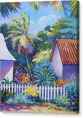 Picket Fence Canvas Print by John Clark