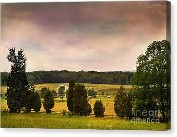 Pickets Charge - Gettysburg - Pennsylvania Canvas Print