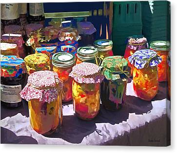Pickles And Jellies Canvas Print