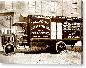 Picture 10 - New - Molasses Truck - Wide Canvas Print