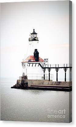 Picture Of Michigan City Lighthouse Canvas Print
