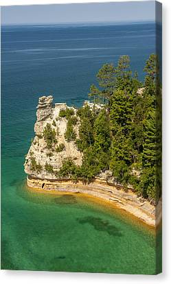 National Lakeshore Canvas Print - Pictured Rocks National Lakeshore by Sebastian Musial