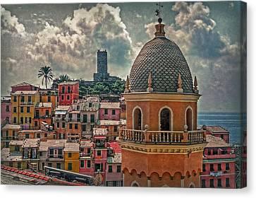 Picturesque Cinque Terre Canvas Print by Hanny Heim