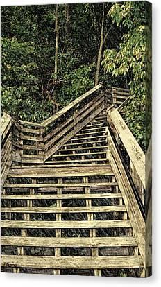 Picturesque Climb Canvas Print