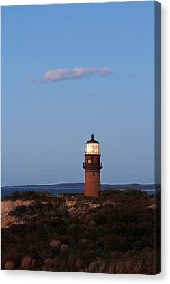 Picturesque New England Lighthouse Photography Of Gay Head Light Canvas Print by Juergen Roth