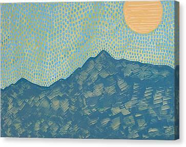 Picuris Mountains Original Painting Canvas Print