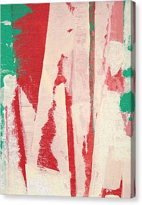 Canvas Print featuring the painting Pieces Of The Puzzle C2013 by Paul Ashby