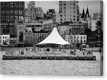Pier 45 Hudson River Park New York City Canvas Print