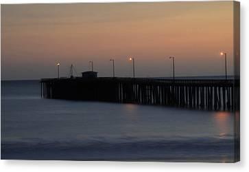 Pier Avilla Beach California  Canvas Print