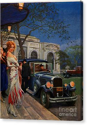 Pierce Arrow  1920s Usa Cc Cars Womens Canvas Print by The Advertising Archives