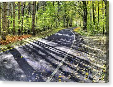 Scenic Drive Canvas Print - Pierce Stocking Scenic Drive by Twenty Two North Photography