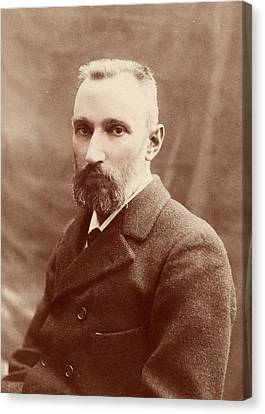 Pierre Curie Canvas Print by American Philosophical Society