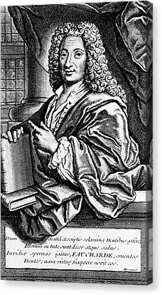 Pierre Fauchard Canvas Print by National Library Of Medicine