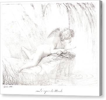 Pierre Guérin French, 1774 - 1833. Le Repos Du Monde Canvas Print by Litz Collection
