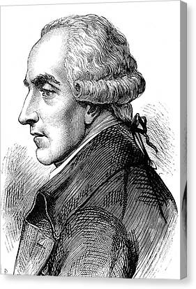 Pierre Laplace Canvas Print by Collection Abecasis