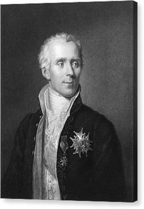 Pierre-simon Laplace Canvas Print by Underwood Archives