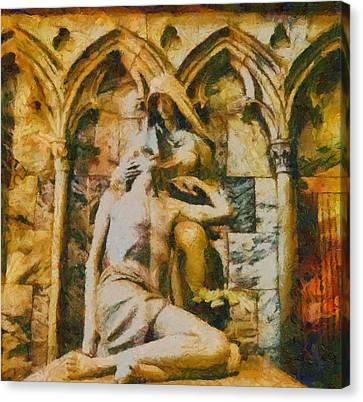 Pieta Masterpiece Canvas Print