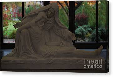 Rememberance Canvas Print - Pieta by Sharon Elliott