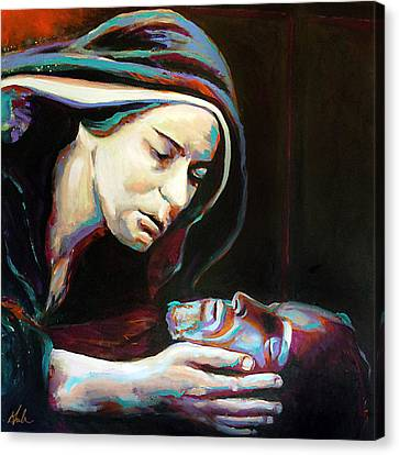 Pieta Canvas Print by Steve Gamba