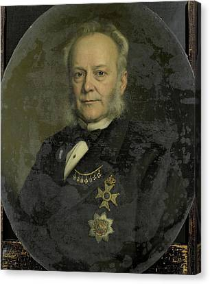 Nederland Canvas Print - Pieter Mijer, 1812-81, Governor-general Of Dutch East Indies by Litz Collection