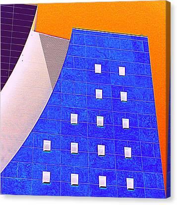 Pig Eye Windows Canvas Print by Randall Weidner