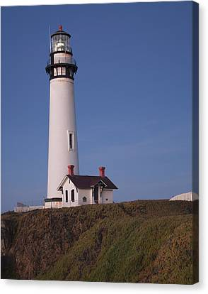 Canvas Print featuring the photograph Pigeon Point Lighthouse #2 by Jim Snyder