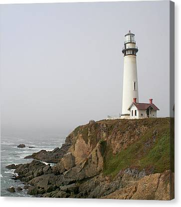 Pigeon Point Lighthouse Canvas Print by Art Block Collections