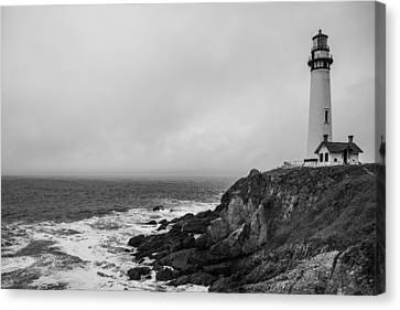 Pigeon Point Lighthouse Canvas Print by Ralf Kaiser