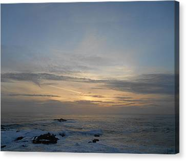 Pigeon Point Sunset Canvas Print