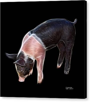 Piglet - 0878 F Canvas Print
