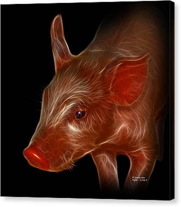 Piglet 1716 F Canvas Print